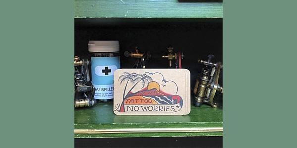 No Worries Tattoo SWE